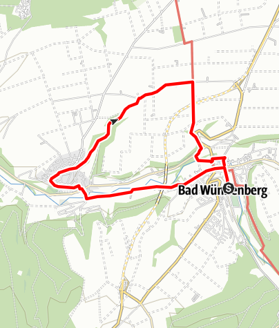Karte / Lebenskraft - Wanderweg Leiberg