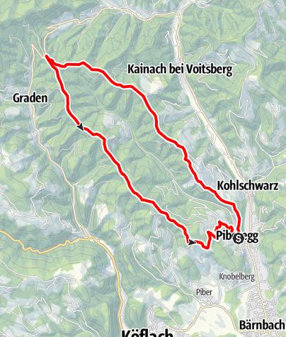 Karte / Durch schönen Hochwald: Vom Freisinggraben zum Eckwirt (4)