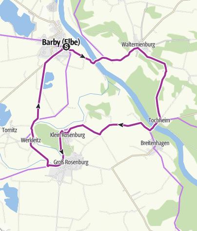 地图 / 3-Fähren-Tour