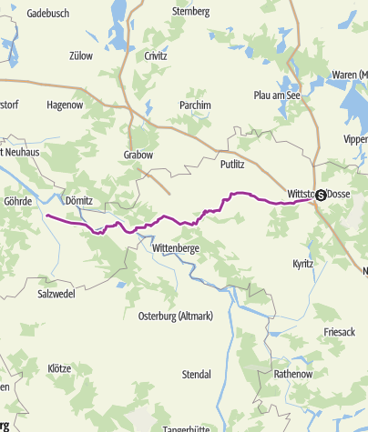 Karte / Polentour 2011 10.Etappe