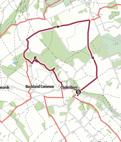 Map / Cholesbury Cholesbury, Wigginton Circular