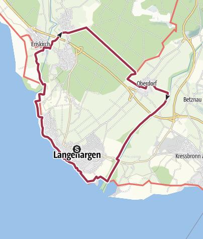 Karte / Zwischen Schussen und Argen - rund um Langenargen