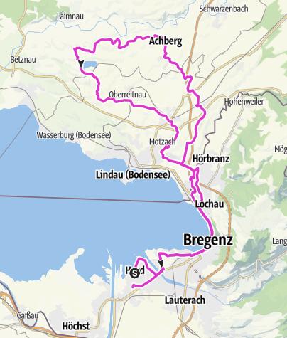 Karte / Anradeln 2011