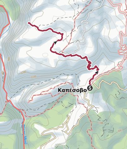 Mapa / GR-VIH-SHRT-D2 Beloi Walk