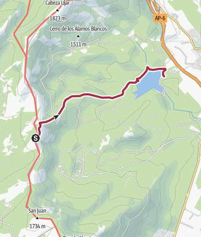 Map / SP-MADR: D3.3.2_Descent-to-jarosa-reservoir