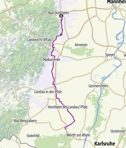 Karte / Weinweg