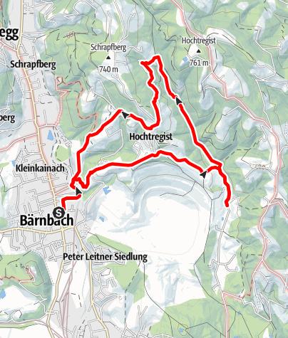 Karte / Auf ins Tregisttal (1)