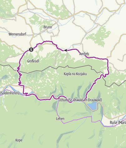 Karte / Austria Slovenija Tour