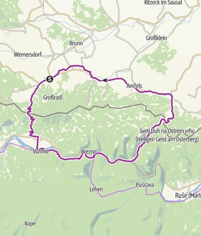 Steiermark Karte Flüsse.Austria Slovenija Tour Radtour Outdooractive Com
