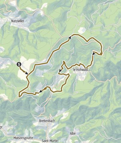 Map / 20160625R Boucle Belmont Le Hohwald