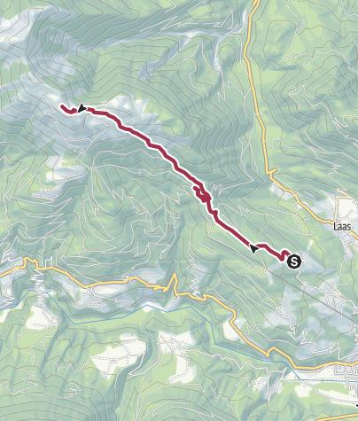 Karte / Blumenparadies Mussen (Ödenhütte - Röthen - Kuku)