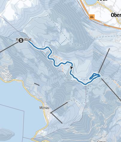 מפה / Langlaufloipe Panoramaweg