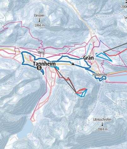 Karte / 2017_19 km_Skating_SKI-TRAIL Tannheimer Tal - Bad Hindelang