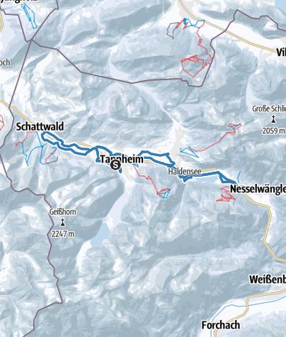 Karte / 2018_36 km_Skating_SKI-TRAIL Tannheimer Tal - Bad Hindelang