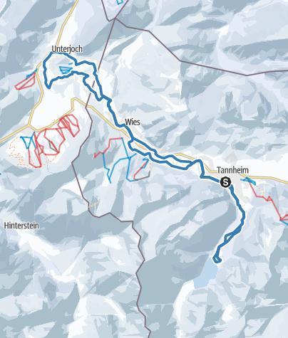 Karte / 2018_33 km_Klassik_SKI-TRAIL Tannheimer Tal - Bad Hindelang