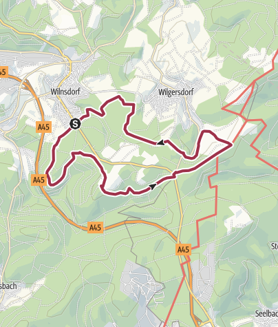 Map / Auf Bergmannspfaden