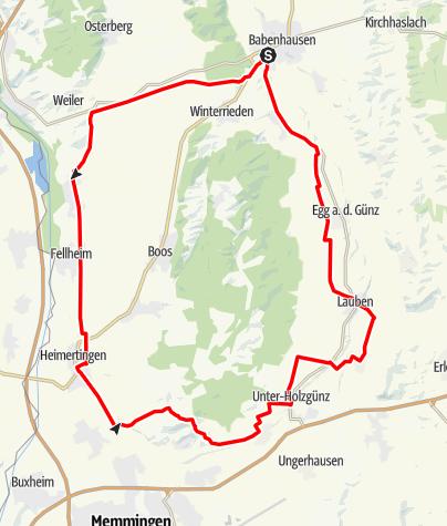 Karte / Babenhausen