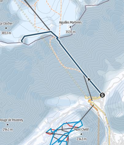 Karte / Tour Ronde Nord