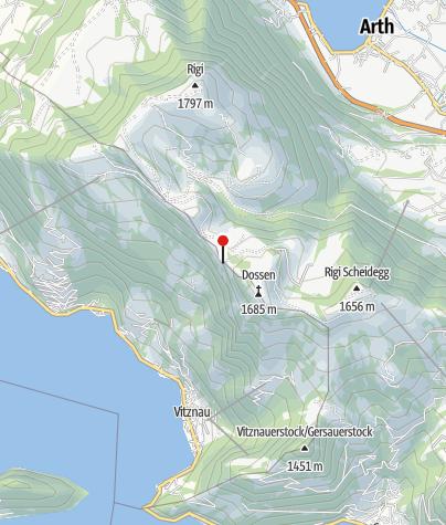 Carte / Berghaus Unterstetten