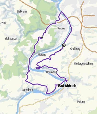 Map / Regensburg Fat Ass 30k (2018)