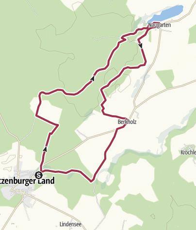 Karte / Unterwegs auf dem Großen und dem Kleinen Boitzenburger
