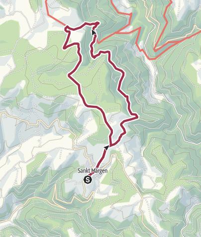 Karte / Zweribachfälle (Tour 7)