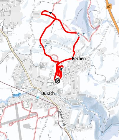 Karte / Durach