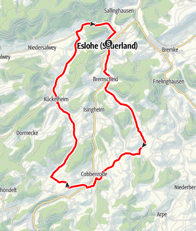 Karte / Durch das Marpetal