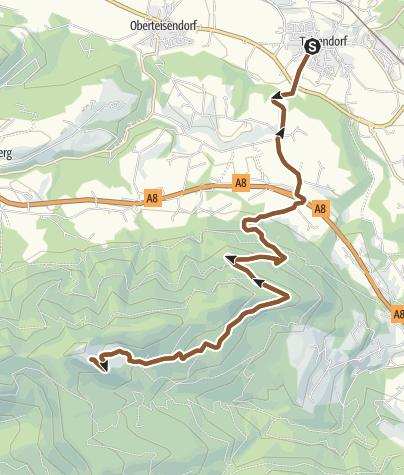 Karte / MTB: 23 - Stoißeralm von Teisendorf