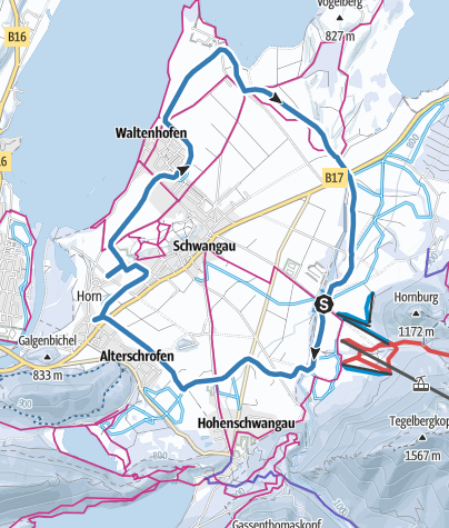 Map / Schwangauer Rundloipe