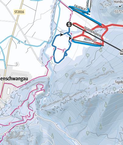 Karte / Neuschwanstein-Runde