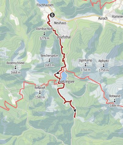 Karte / Bockerlbahnweg