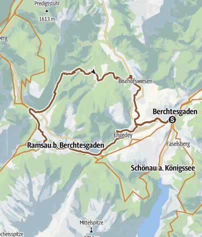 Karte / MTB: 13 - Mordaualm-Runde
