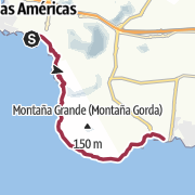 地图 / Zum südlichsten Punkt der Insel