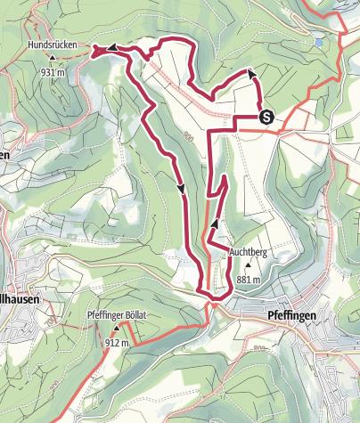 Karte / Traufgang Wiesenrunde