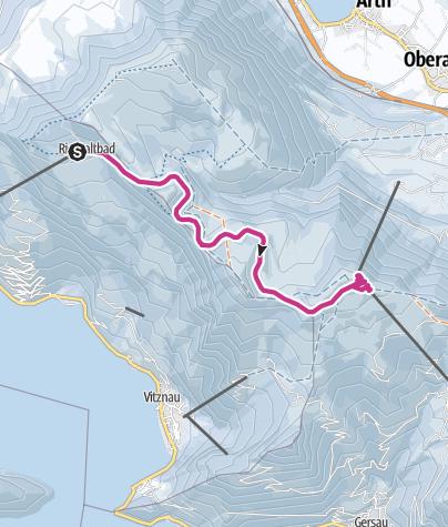 Map / The Rigi Panorama Path