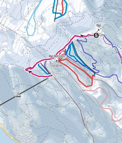 Karte / Rigi - Klassiker