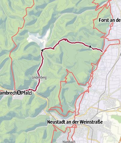 Karte / Deidesheim - Geißbockweg