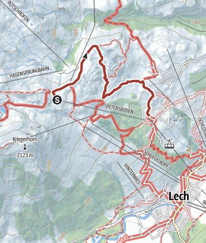 """Karte / Naturschutzgebiet """"Gipslöcher"""""""
