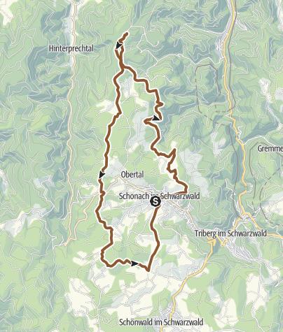 Schonach Tour Laubwaldkapelle Schone Aussicht Radtour