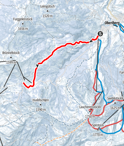 Karte / Oberiberg - Ibergeregg
