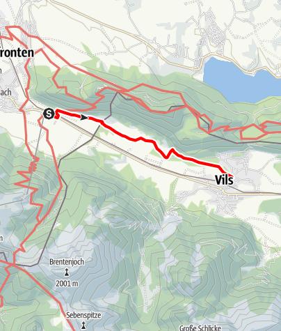 Karte / Pflanzenpfad Pfronten-Vils