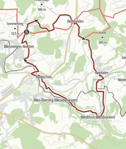 Karte / Gräfinthaler Weg