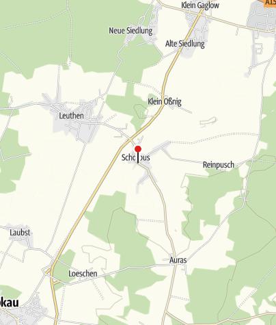 Karte / Kirche Schorbus