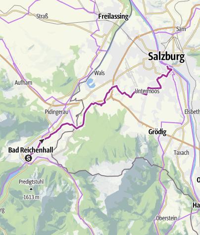 Karte / Bad Reichenhall - Salzburg