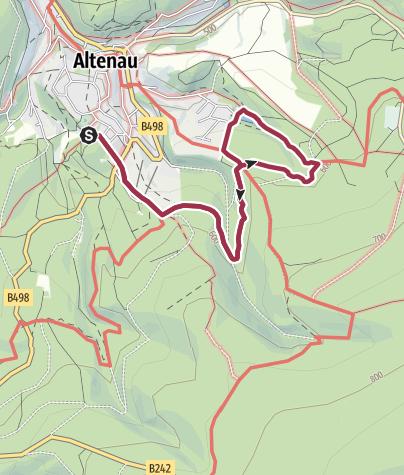 Karte / Altenau Nr. 12 Okerteich