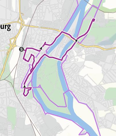 Map / Magdeburg an der Elbe mit dem Fahrrad entdecken