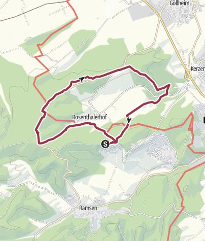 Map / RPW  Stauf-Rosenthal