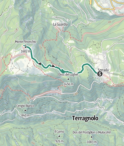 Cartina / Trekking al Rifugio Finonchio