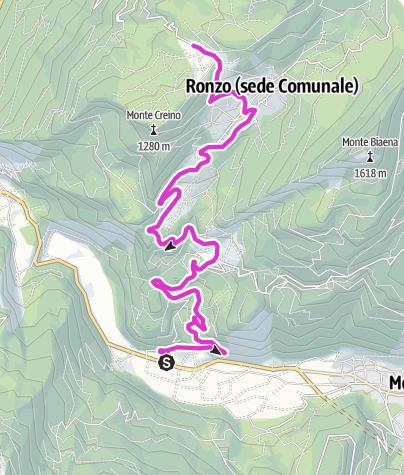 Karte / Loppio - Monte Velo
